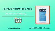 New 1099 NEC Form | e file 1099 NEC | 1099 online forms | 1099 form fi